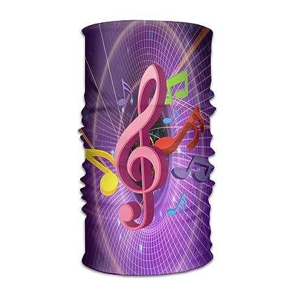 Amazon com: YOIGNG Colorful Music Symbols Headwear Caps