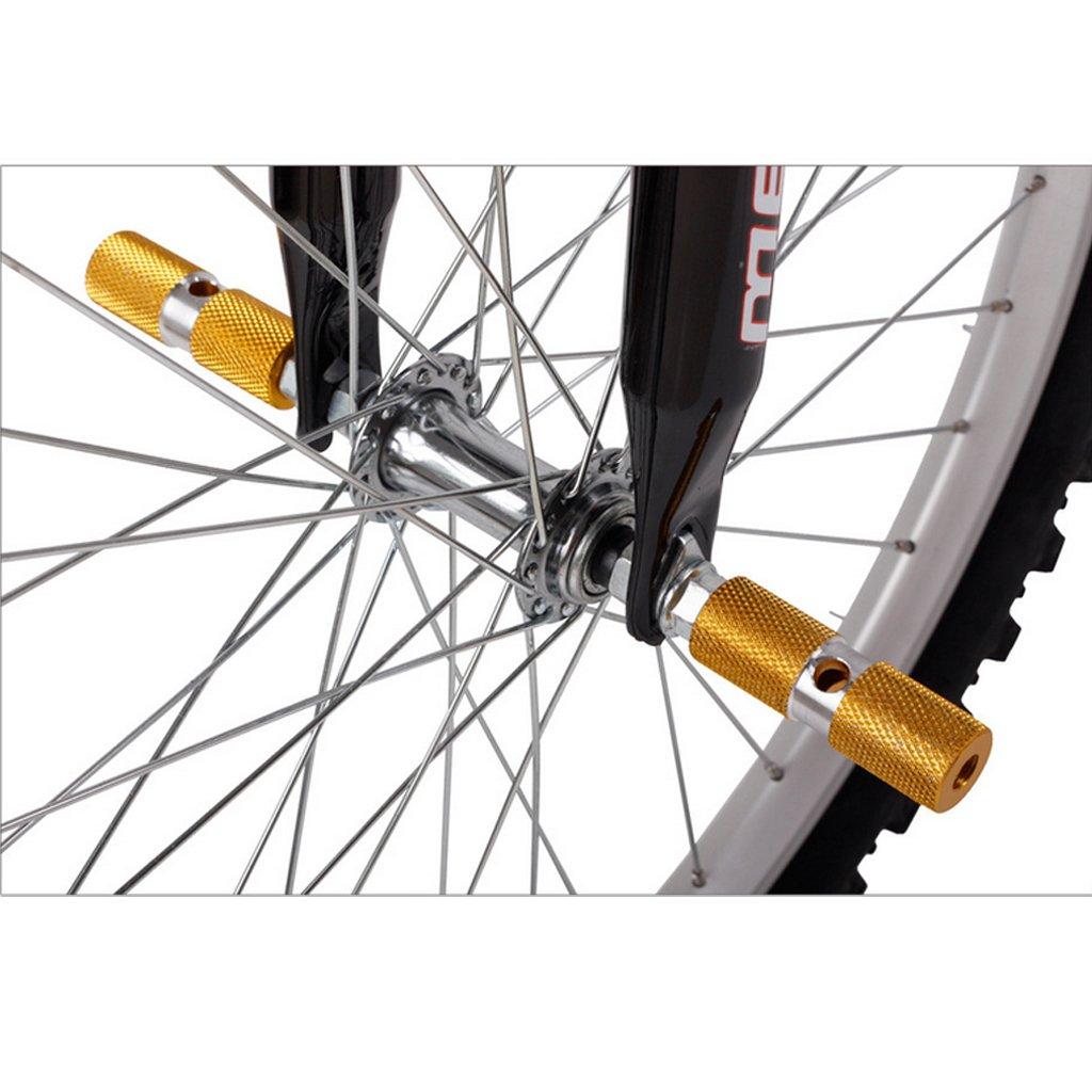 Sharplace 1 Paar Fahrrad BMX 3//8 Achse BMX Pegs Fu/ßfrei Fu/ßraste Rasten Fu/ßrasten