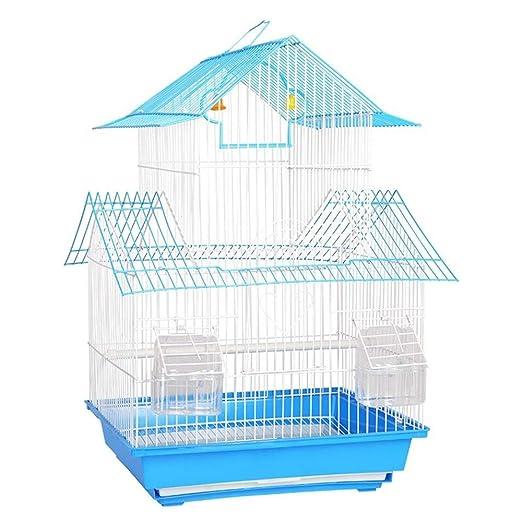 Canness Jaula de Vida de Aves para Mascotas La Jaula del pájaro ...