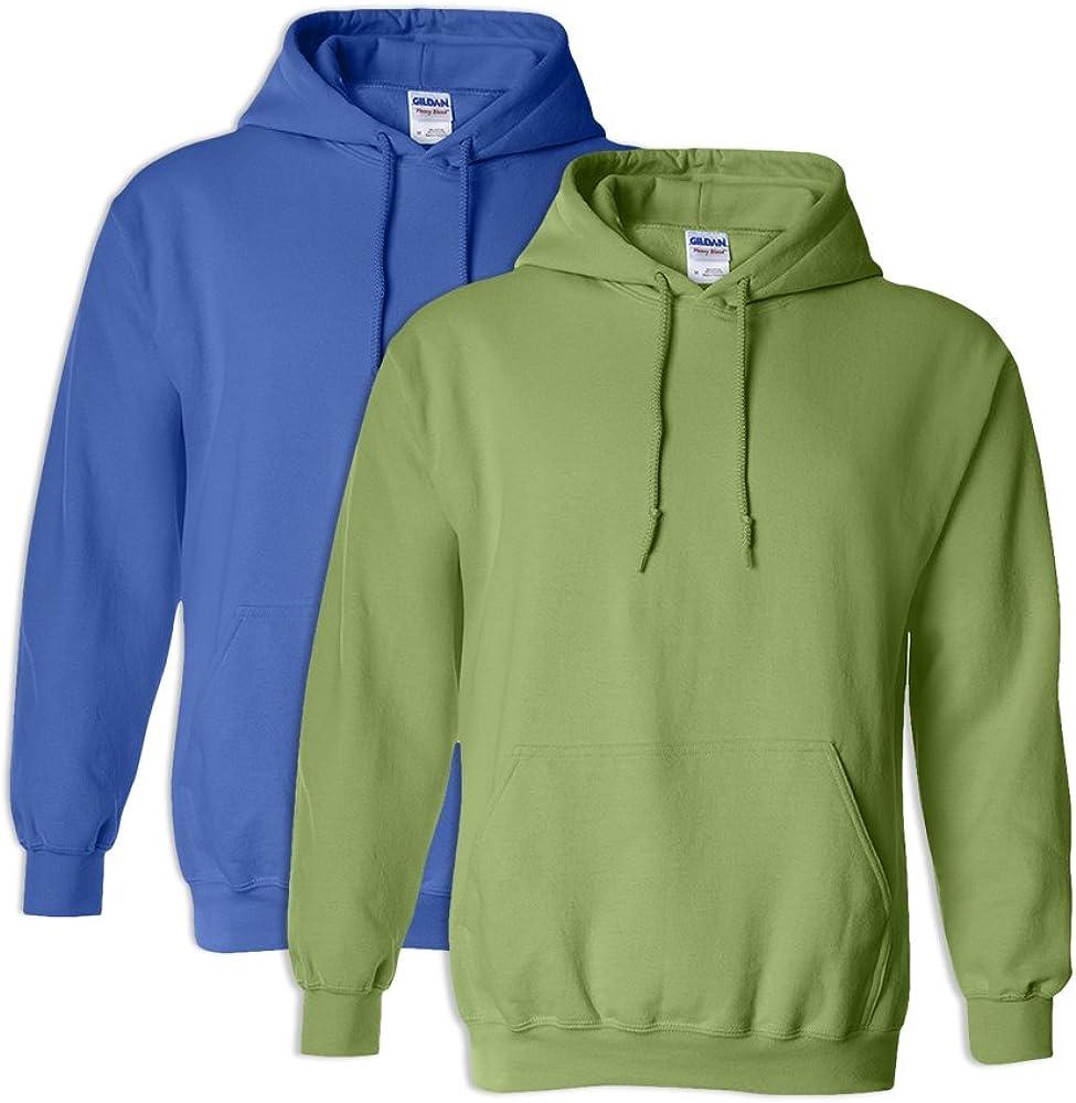 1 Kiwi Gildan G18500 Heavy Blend Adult Unisex Hooded Sweatshirt 5XL 1 Royal