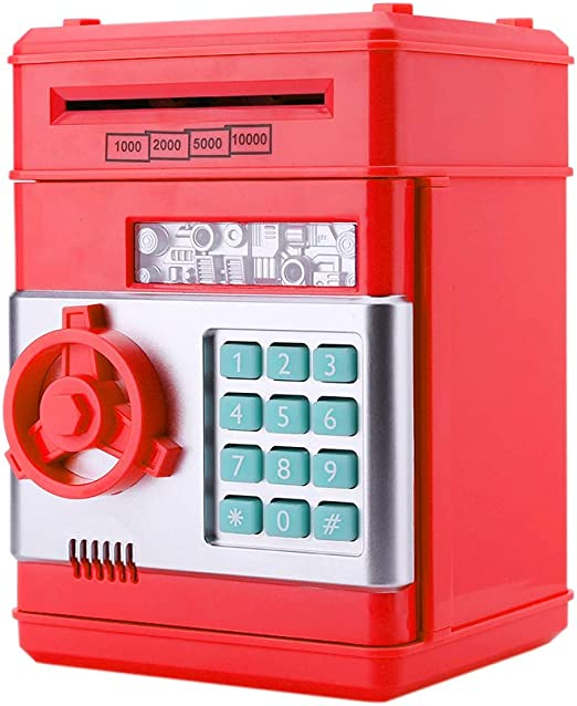 InnerSetting - Hucha con contraseña para niños, automática ...