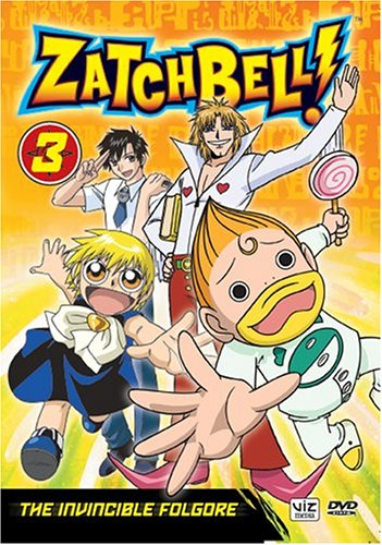 Zatch Bell, Vol. 3 - The Invincible Folgore