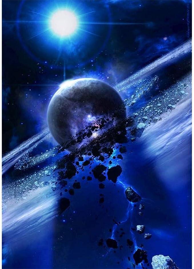 YWLINK DIY 5D Planeta Conjunto De Pintura De Diamante Pintura ...