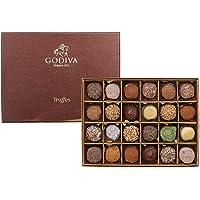 GODIVA 歌帝梵 松露形巧克力礼盒24颗装 340g(比利时进口)(亚马逊自营商品, 由供应商配送)