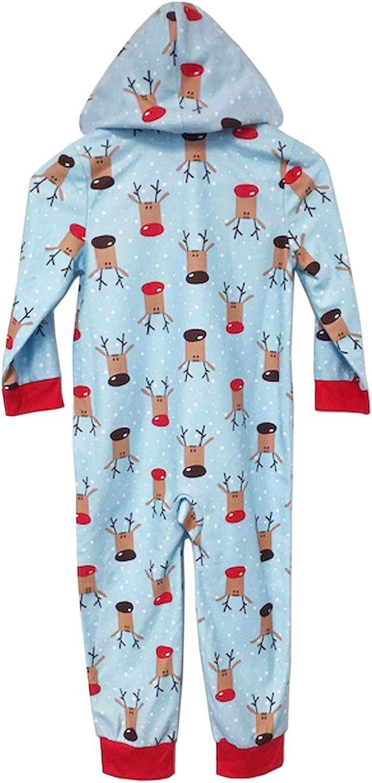 Dreamwave Toddler Boy Christmas Holiday Onesie Pajamas