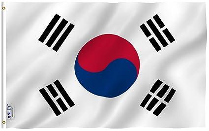 amazon com anley fly breeze 3x5 foot south korea flag vivid