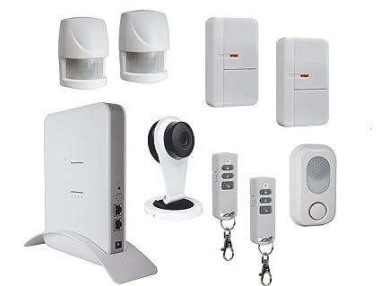 Hogar sistema de alarma completo con cámara IP, App control ...