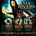 The Nia Rivers Adventures, Books 1-3: Dragon Bones, Demeter's Tablet, Templar Scrolls Audiobook by Jasmine Walt, Ines Johnson Narrated by Kate Marcin