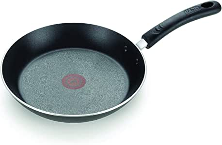 T-fal E93808 Professional Nonstick Fry Pan, Nonstick Cookware, 12.5 Inch Pan, Thermo-Spot Heat Indicator, Black