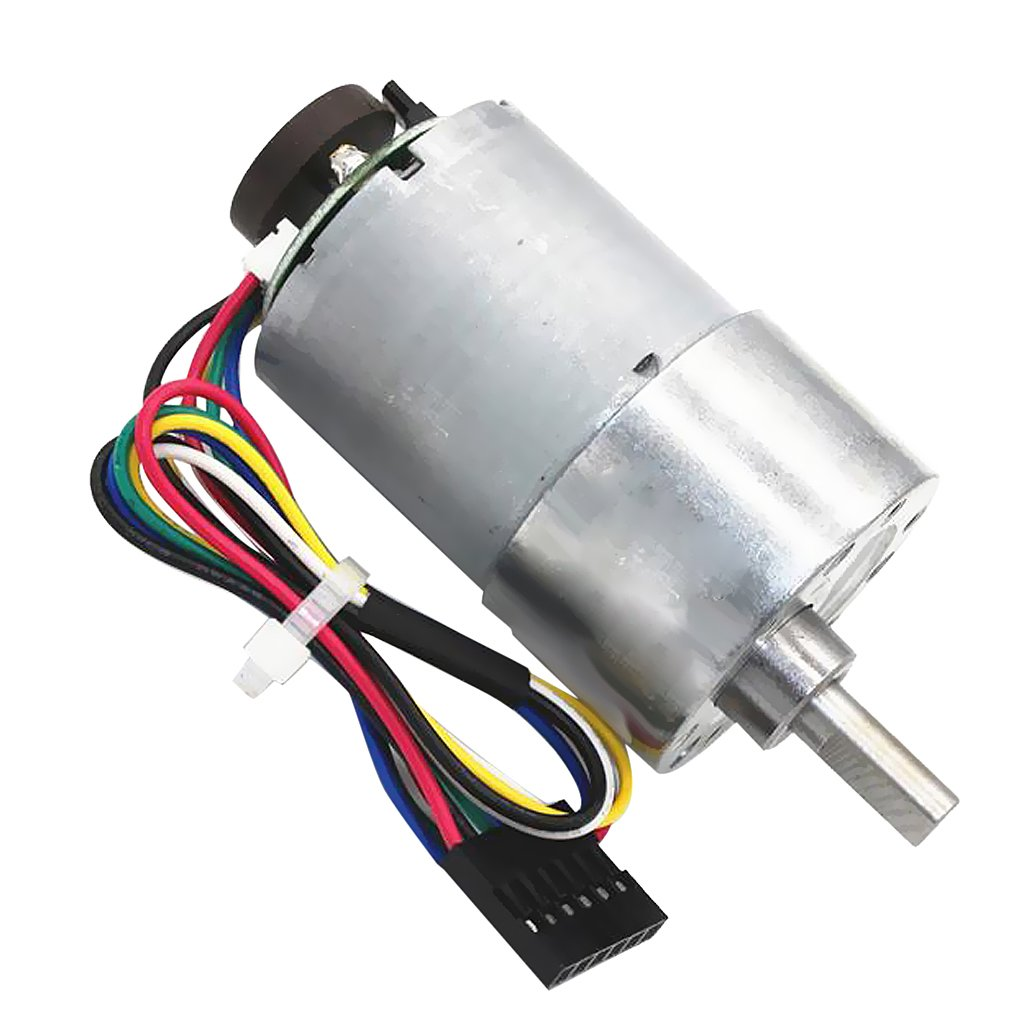 Jili Online 1pc DC 24V 12~1600RPM Micro Speed Reduction Gear Motor Replacement Aluminum - 37rpm