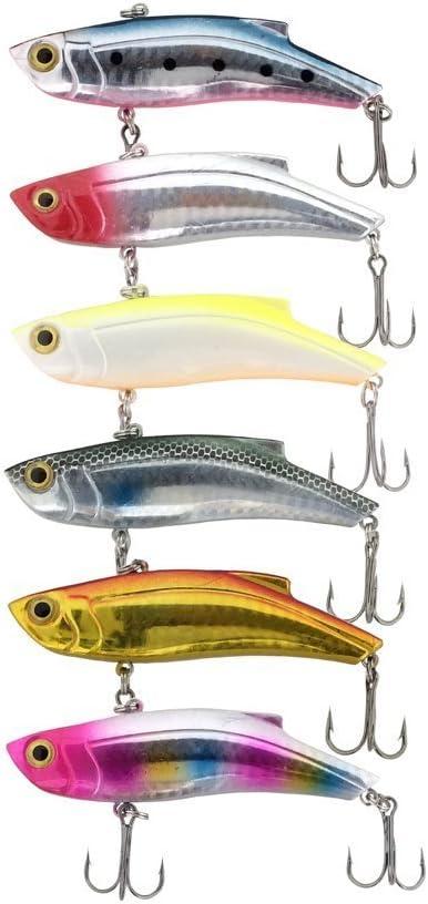 オルルド釣具 バイブレーション 8.9cm 28g 6色セットの画像
