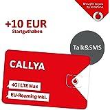 Vodafone Freikarte (Callya Talk+SMS) + 10 Euro Startguthaben