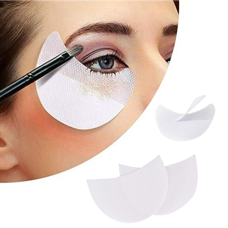Sankuwen 150 Pcs Eyeshadow Shields Under Eye Patches Disposable Eyelash Extensions Pads Eyeshadow Patches For Eyelash Extensions/Lip Makeup