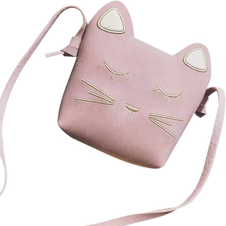 Brown Nikgic Pl/üsch Paket Kindertasche Cat Umh/ängetasche Handtasche Kind Frau M/ädchen Handytasche M/ünztasche F/ür Geschenke 10 4 cm 11