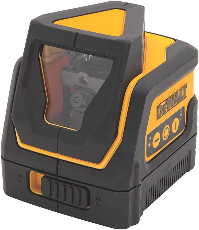 Danpon Laser level,Floor Line,Designed with an Automatic Pendulum,with Bubbles,Clear Bright One Green Beam,360/°Rotating Chassis with Magnets,Small,Suitable for Home Decoration,VH-66G