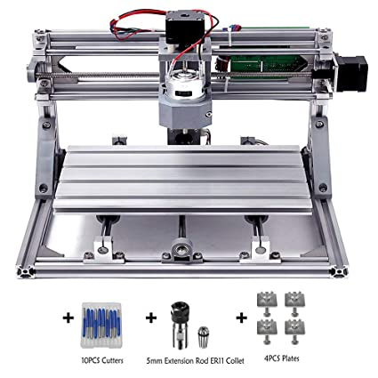 Diy Cnc Router Kit Mysweety 3018 Grbl Control Wood Carving Milling Engraving Machine Working Area 30x18x4 5cm 3 Axis 110v 240v With Er11 And 5mm