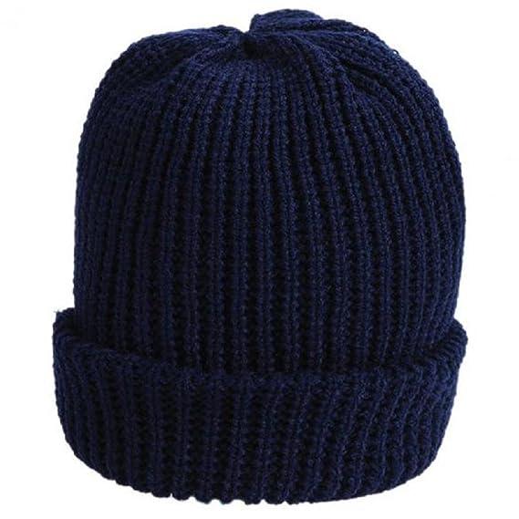 Malloom® Uomo Cappello Inverno Lana Canapa Berretto Cappelli Uomo (Blu)   Amazon.it  Abbigliamento d3de26aac816