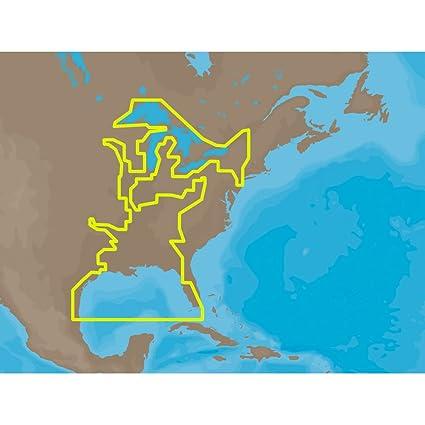 Amazoncom CMAP MAX NAM023 US Gulf Coast Inland Rivers C