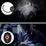 LED Work Light, USB Rechargeable COB Light, 5 Modes with SOS Light Magnetic Base Flashlight 360°Rotate IP65 Waterproof Torch Ultra Bright for Car Repairing Workshop Garage Camping Emergency