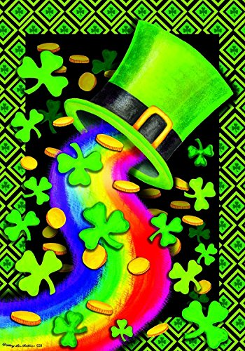 Rainbow Hat St Patricks STANDARD Decorative
