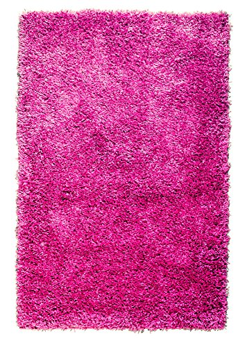 Super Area Rugs Cozy Plush Solid Shag Rug, 3' 3