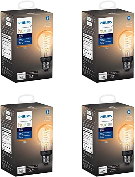 Philips Hue 551770-4 Filament Smart Light Bulb