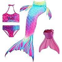 onlight Niña Mermaid Traje de Baño