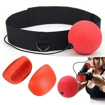 KWOW - Balón de Boxeo Reflex portátil para Entrenamiento de Boxeo ...