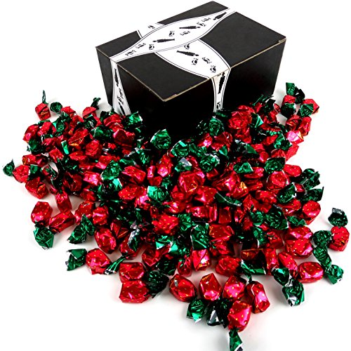 Colombina Strawberry Delights Hard Candy, 2 lb Bag in a BlackTie Box (Strawberry Candy Dish compare prices)