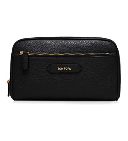 271433e542 Amazon.com   Tom Ford Black Leather Cosmetic Bag   Beauty