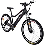 Ancheer Electric Mountain bike approx 24-34 Mile mileage E Bike with Removable Lithium Battery (12AH), Aluminium Alloy Frame, Shimano Gear