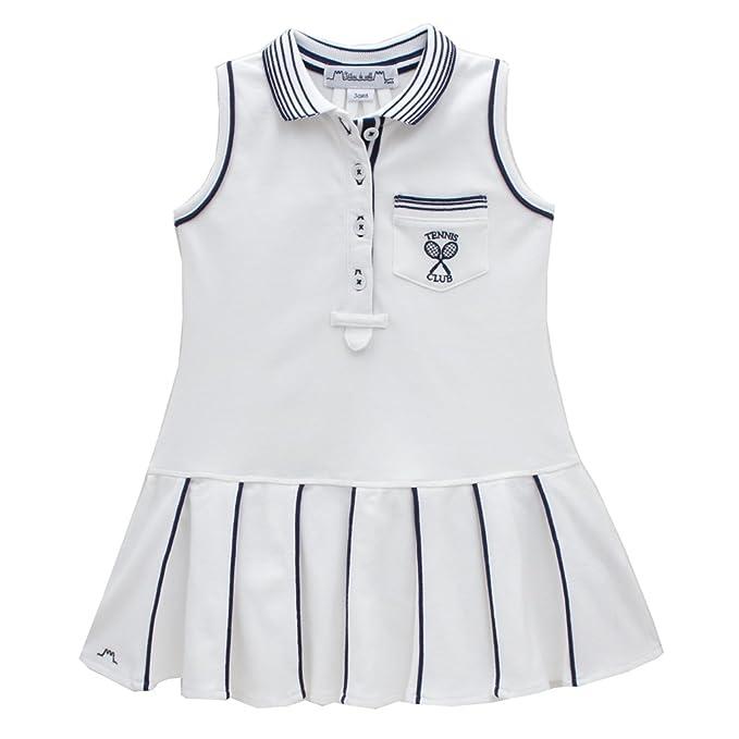 Vestido de Tenis para niñas, diseño francés, Color Azul ...