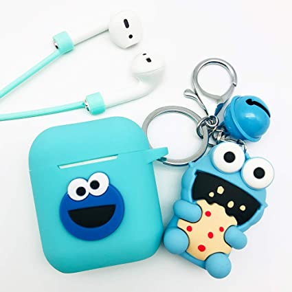 Amazon Com Batter Airpods Case Keychain Airpods Accessories