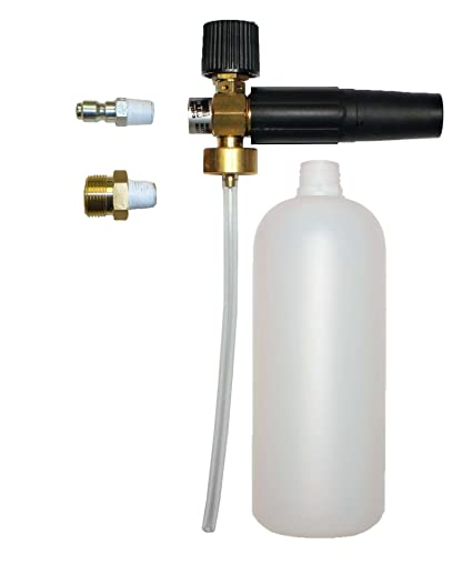 Professional Foam Lance Adjustable with 32 oz. Bottle by MTM Hydro