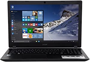 "Acer Aspire 3 A315-51-56GT 15.6"" Laptop Intel Core i5-7200U Processor 2.5GHz; Windows 10 Home; 4GB DDR4 RAM; 1TB Hard Drive; NX."