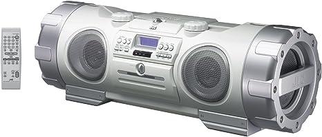 Jvc Rv Nb 10 W Mp3 Cd Radiorekorder Silber Weiß Audio Hifi
