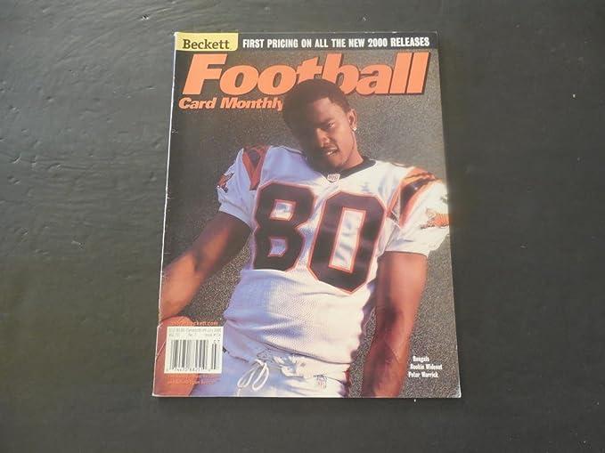 Beckett Football Card Monthly Jul 20007 Peter Warrick Cover At