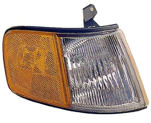 Civic Crx Driver - For 1990 1991 Honda Civic Coupe Crx Turn Signal Corner Light lamp Assembly Driver Left Side Replacement HO2550119