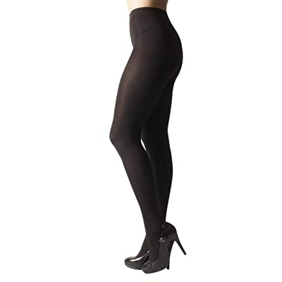 OPAQUE WINTER TIGHTS | THICK TIGHTS | MICROFIBER 3D PANTYHOSE | 100 DEN | BLACK, BROWN | S, M, L, XL | MADE IN ITALY |