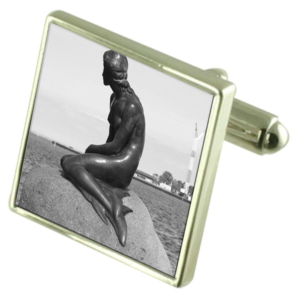 Select Gifts Mermaid Statue Engraved Keepsake Message Box