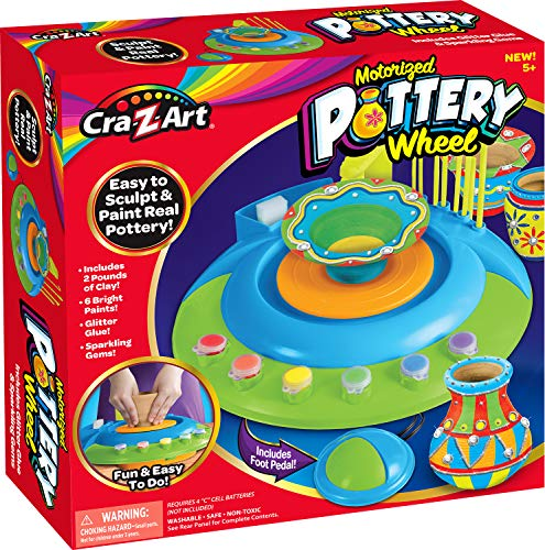 Cra-Z-Art 14500 Pottery Wheel, Multicolor