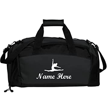Amazon.com   Custom Name Dance Bag  Port   Company Gym Duffel Bag   Sports  Duffels 9b49218ae2