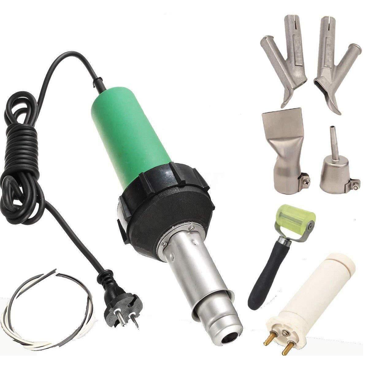 Beyondlife soldador de aire caliente Plástico Pistola profesional PVC vinilo Rod soldadura herramienta 1600W product image