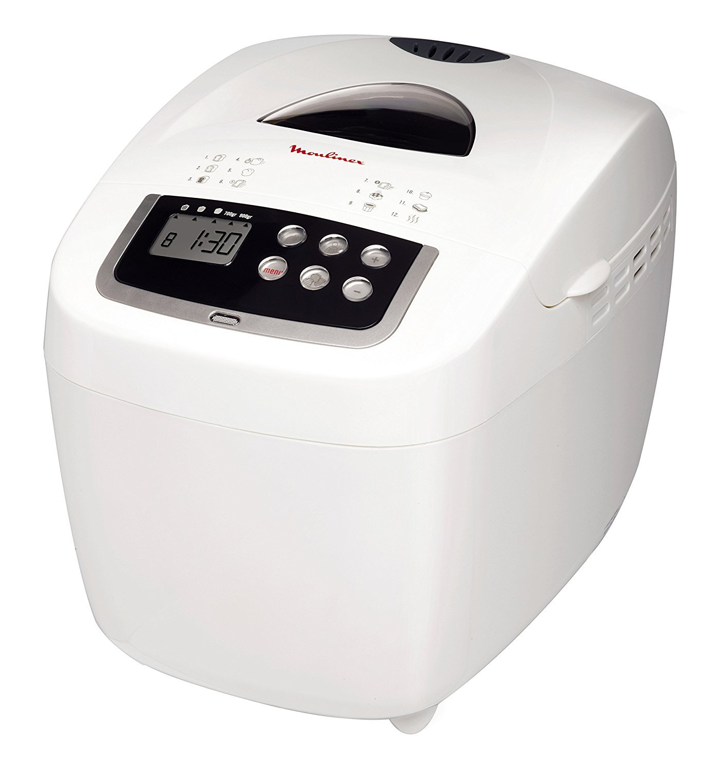 Moulinex OW1101 600W Color blanco - Panificadora (Color blanco, 15 h, 600 W)