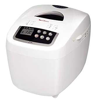 Moulinex OW1101 600W Color blanco - Panificadora (Color blanco, 15 h, 600 W): Amazon.es: Hogar