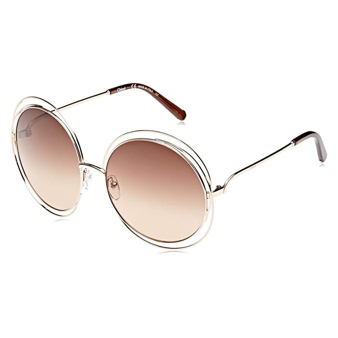 4f672cccb2 Chloe Carlina CE114S 784 Rose Gold Brown Gradient  Amazon.co.uk  Clothing