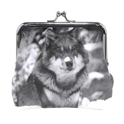 Amazon.com: Wolf - Monedero de piel con cierre de hebilla ...