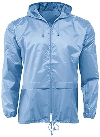 Lightweight Unisex Cagoule Kagool  Amazon.co.uk  Clothing cc9481216f