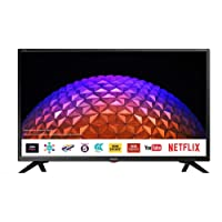 Sharp LC-32HI5332KF 32 Inch HD Ready Smart LED TV with Freeview HD with Freeview Play, Harmon Kardon Speakers, and Built-in WiFi - Black (2018 model) [Energy Class A+]