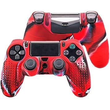 Funda de Silicona Carcasa para Mando Sony PS4 PlayStation 4 ...